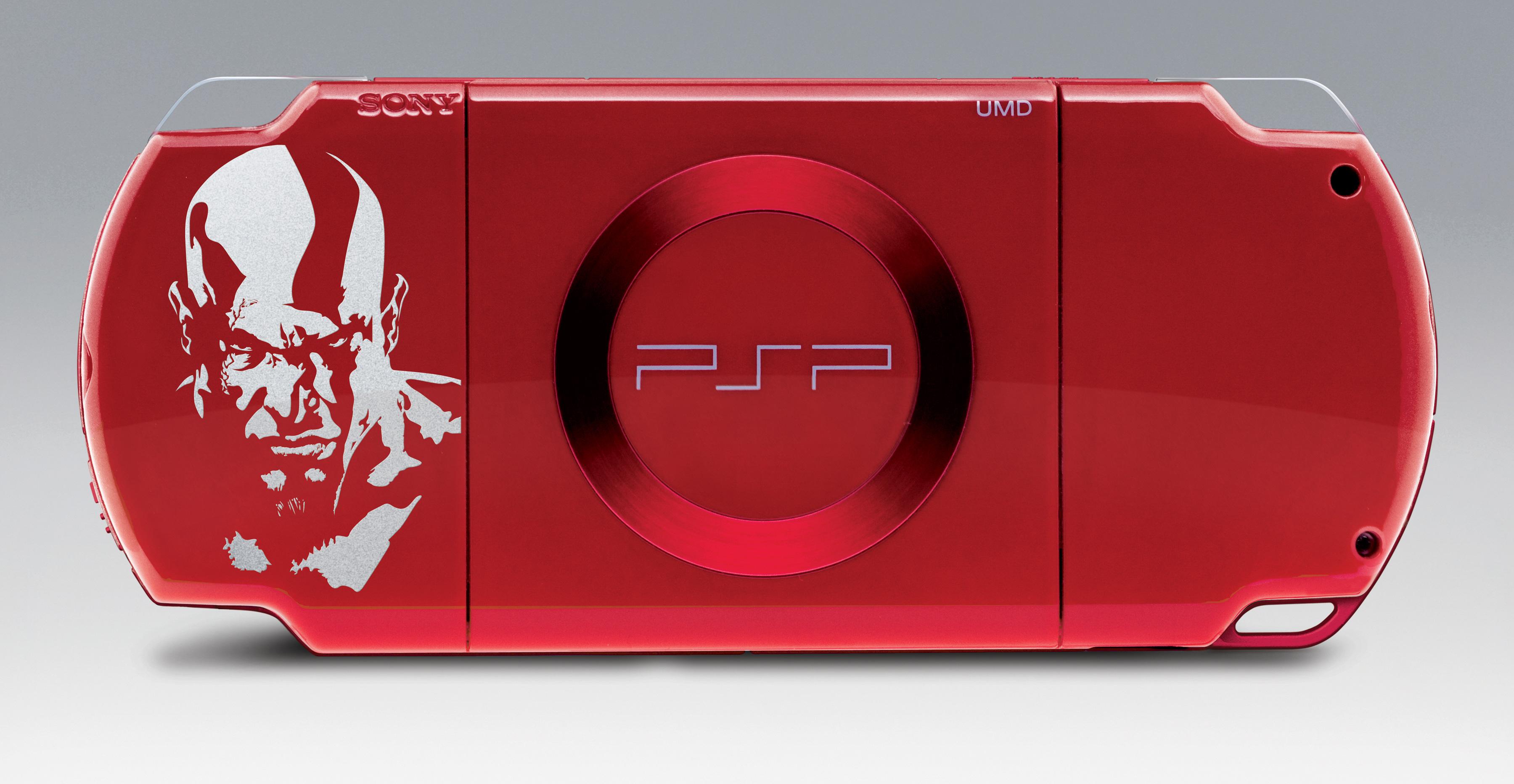 Red God of War PSP Bundle Coming This Summer - Exophase com