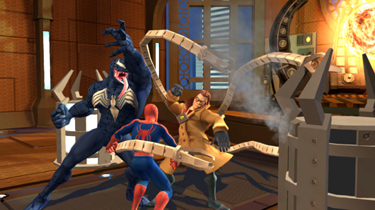 ���� ����� ���� Spider 4(Sro2arab) Spider-Man-Friend-or-Foe---Doc-Ock-Boss-Battle.jpg